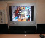 14インチ浴室テレビ新設